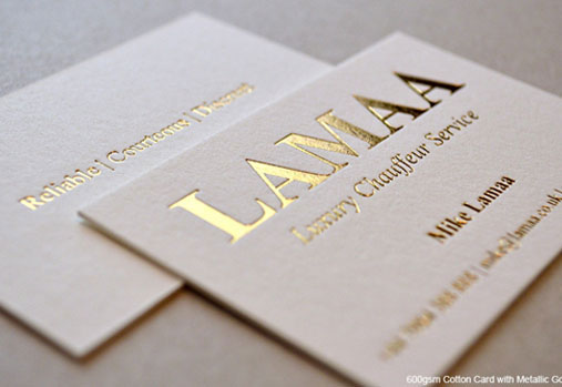 Luxury business card and visiting card design company india foil printing business card designs colourmoves
