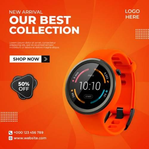 creative watch branding